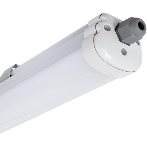 Plafoniera Stagna Slim LED Integrato 1500mm 48W