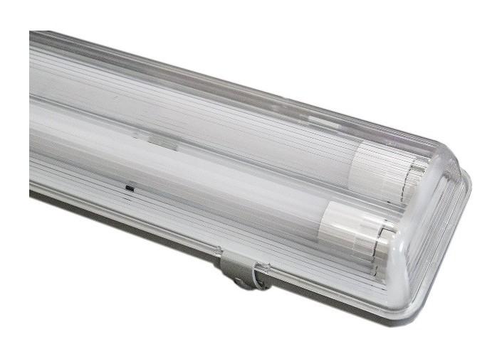 Plafoniera Neon 2x58w Disano : Plafoniera stagno per tubi led 2x9w 60cm ip65
