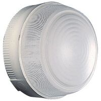 Plafoniera Tonda Gewiss Diametro 230mm E27 IP44 Grigia GW80652