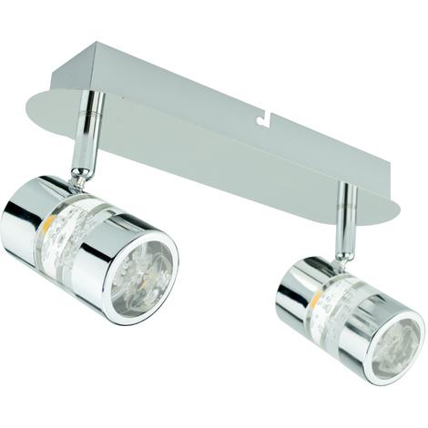Faretti Led 6 Watt.Plafoniere Lampada Da Soffito 2 Faretti Led 3 W 6 W