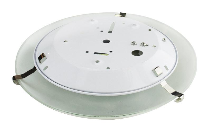 Plafoniere Da Soffitto Rotonde : Plafoniere lampadario da soffitto rotondo Ø cm in vetro opaco