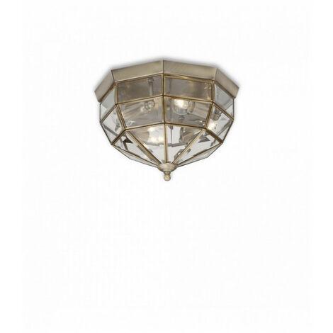 Plafonnier Brun NORMA 3 ampoules