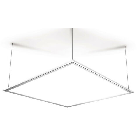 Plafonnier carré à LED de 595 x 595 mm - 3100 lumens - intensité variable par switch | Xanlite