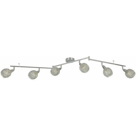 Plafonnier chrome décor de luminaire laisse des taches éclairage de salon mobile