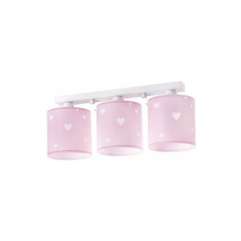 Rampe 3 Lampes Collection ``Sweat Dreams Pink`` - Dalber