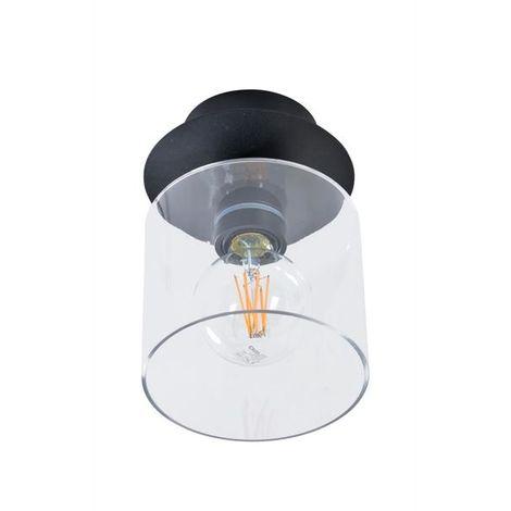 651728 Plafonnier Design Noir Corep Disk Métal I6bgfY7yv