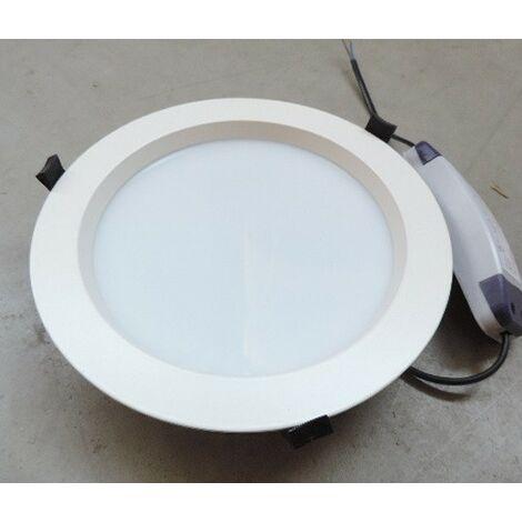 Plafonnier encastré LED 25W dalle Ø 230mm blanc 5000K avec driver 230V IP44 AIRIS DL258IP44