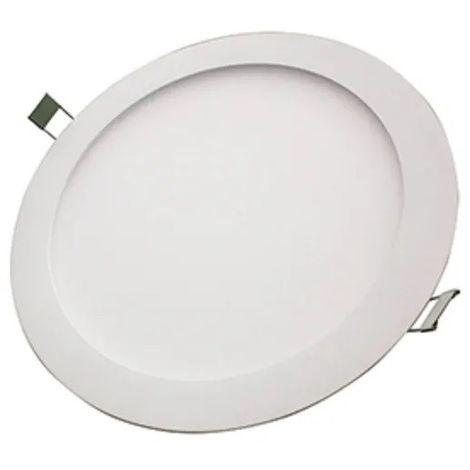 Plafonnier encastré LED 30W blanc downlight Ø 220mm 3000K 2350lm avec driver 230V 110° IP44 IK08 CAMUS TRAJECTOIRE 003729