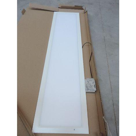 Plafonnier encastré LED 34W dalle 1200X300mm 4000K 3600lm driver 230V diffuseur opale IP20/44 RAPSODY DIETAL Q14004