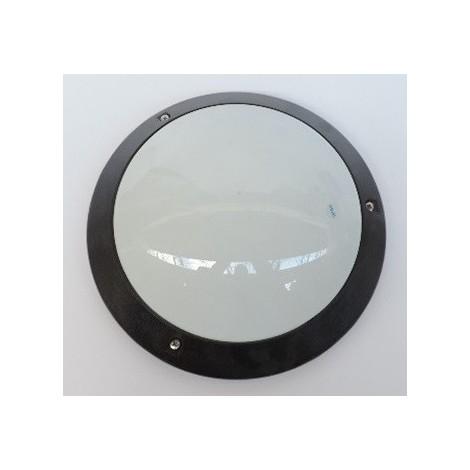 230vnon Detection Ip54 Spo Ø À 296mm Polycarbonate Noir Lampe Sarlam Hf Hublot Pour E27 514476 Plafonnier InclIk07 OPN0kZwX8n