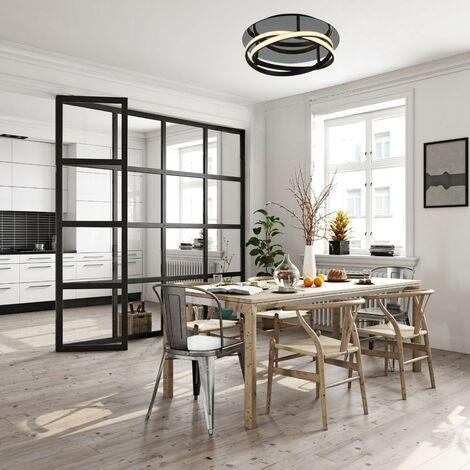 Plafonnier INFINITY Marron LED 1x30W