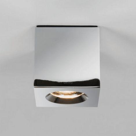 Plafonnier Kos square LED IP65 salle de bains - Chrome - Chrome
