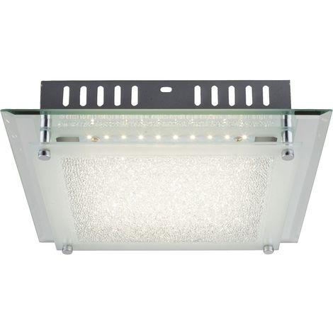 Plafonnier LED 12 W luminaire plafond lampe DEL verre miroir cristaux couloir