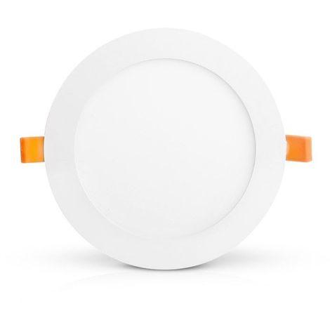 Plafonnier LED 18W (160W) encastrable Ø223 Blanc neutre 4000°K dépoli