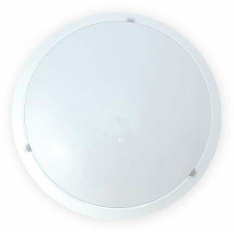 Plafonnier LED 18W (160W) IP65 Hublot Ø296 Blanc neutre 4000°K Finition Blanc