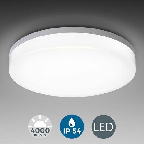 Plafonnier LED 18W éclairage plafond salle de bain IP54 luminaire plafond salle de bain cuisine couloir