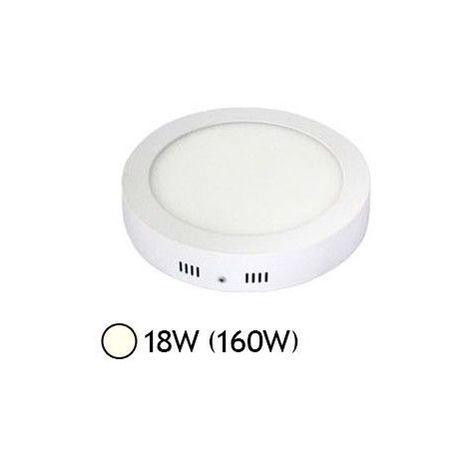 Plafonnier LED 18W Rond Ø220 mm
