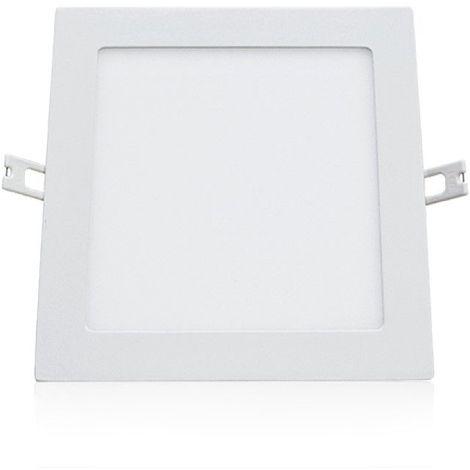 Plafonnier LED 200x200mm 15W blanc équivalent 120W