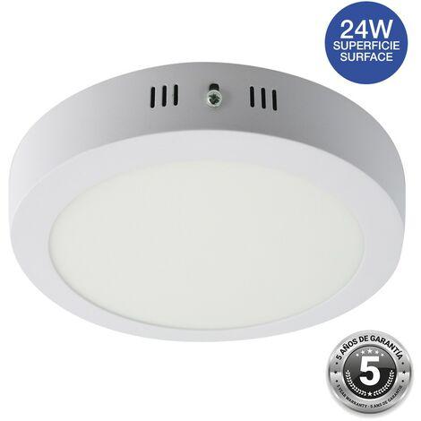 Spot LED 24W saillie rond - 5 ans de garantie   Blanc Neutre