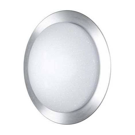 Ledvance Orbis Pure DEL mur et plafond éclairage Blanc Chaud ø 40 cm aluminium blanc