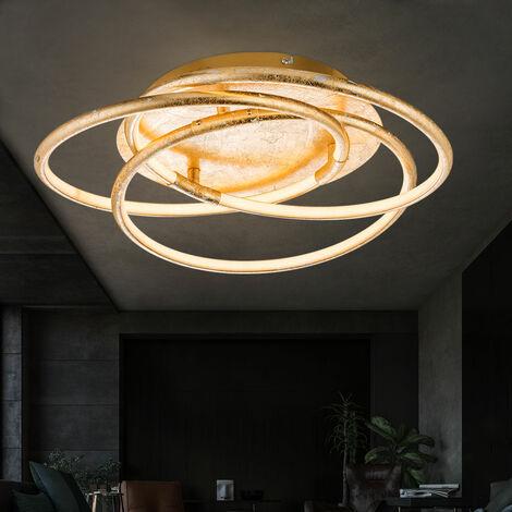 Plafonnier LED avec la conception des anneaux d'or BARNA