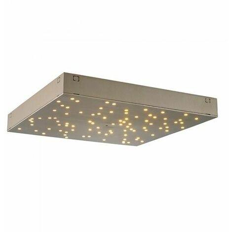 Plafonnier LED, blanc, effet ciel étoilé, longueur 30 cm