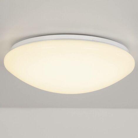 Plafonnier LED Brilliant Fakir 12 W blanc