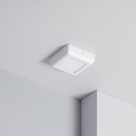 Plafonnier LED Carré Design 6W White Downlight