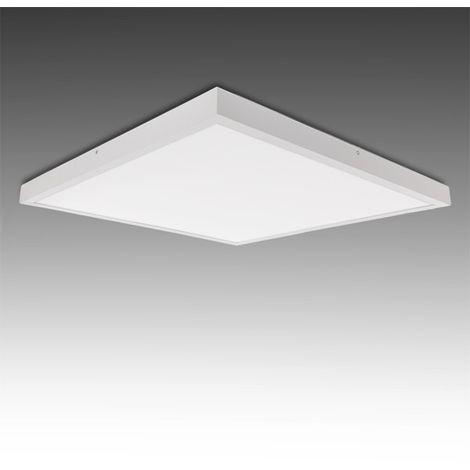 Plafonnier LED Carré Monté En Surface 600X600Mm 36W 2700Lm 30.000H
