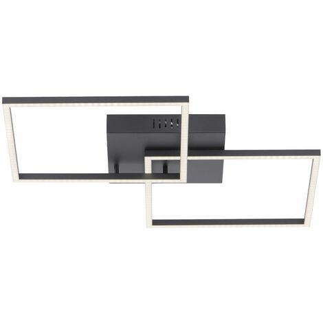 Plafonnier LED dimmable design spot lampe télécommande CCT éclairage du salon lumières Direkt 14141-18