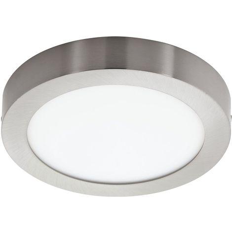 Plafonnier LED DIMMABLE lampe de salon lampe de salon argent REMOTE CONTROL Eglo 78769