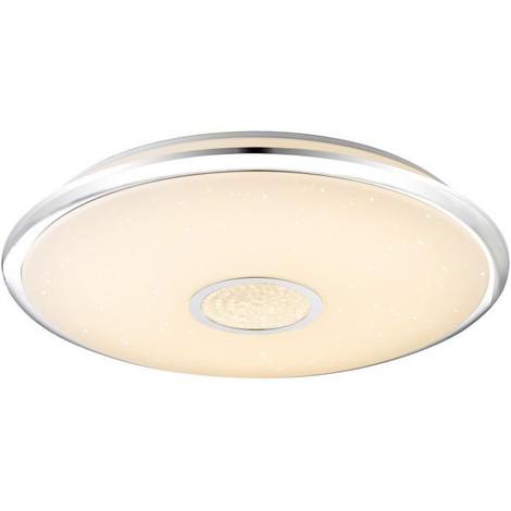 Plafonnier LED En Métal 8,5x59x59 Cm Blanc