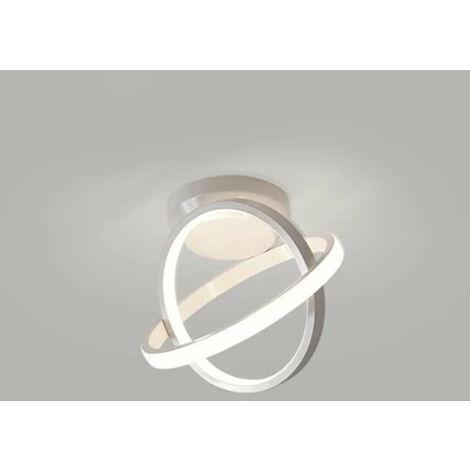 Plafonnier LED moderne, 22W Lampe de plafond, Lustre chic 6000K pour Couloir, Salon, Chambre (Blanche Froide)