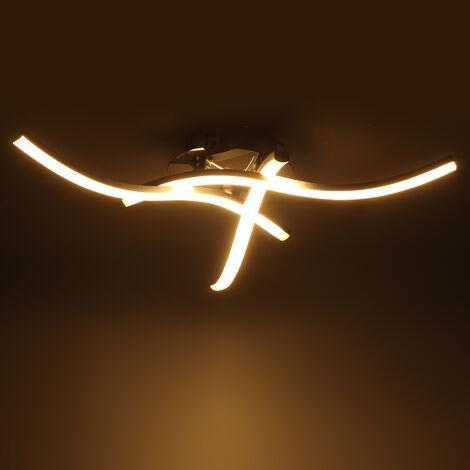 Plafonnier LED moderne vers le bas luminaire chambre maison salon lampe de montage