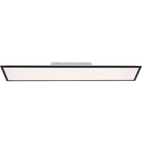 Plafonnier LED noir REMOTE CONTROL Daylight panneau apparent dimmable LeuchtenDirekt 14757 -18