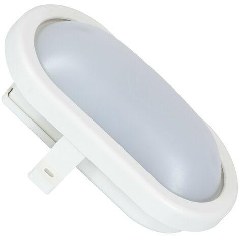 Plafonnier LED Ovale Hublot 12W White Downlight