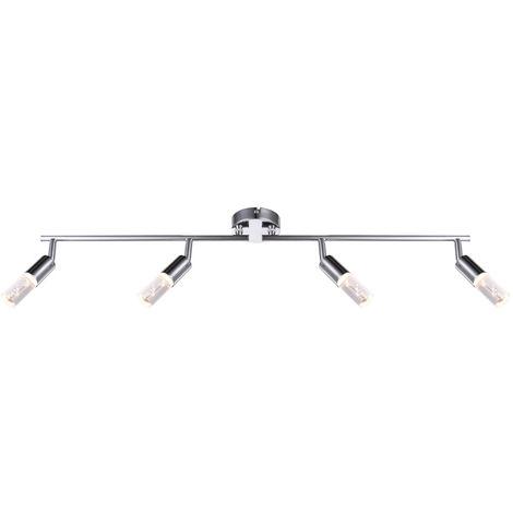 Plafonnier LED, rail lumineux, spot réglable PÉROU