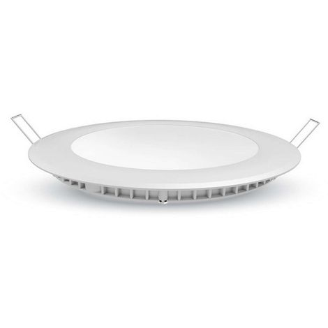 Plafonnier led Rond 12W extra plat (eq 100W) encastrable
