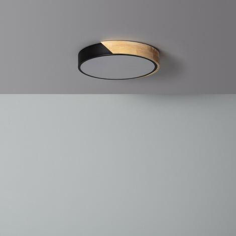 Plafonnier LED Rond CCT Sélectionnable Semi-Dari 18W Downlight