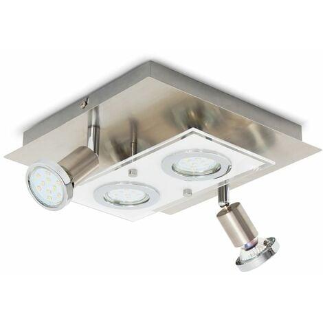 Plafonnier LED spots plafond lampe luminaire salon chambre lustre