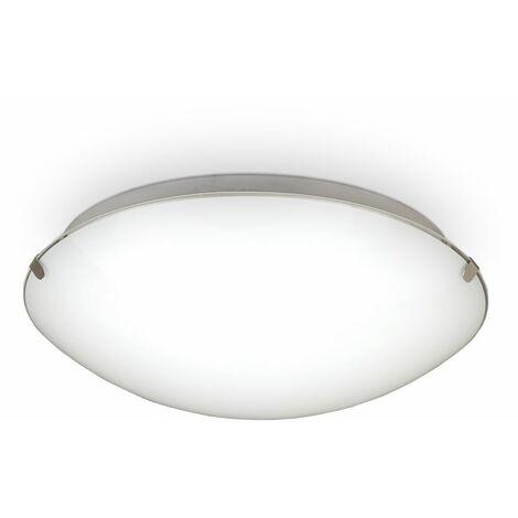 Plafonnier LED verre salon salle à manger éclairage chambre cuisine 11,5W
