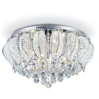 Tambour Design Lampes Gris Métal 3 Plafonnier Corep 652230 PkiXwuOTZ