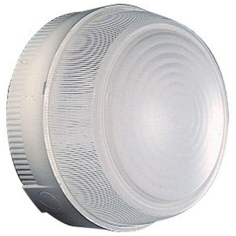 Plafonnier Rond Gewiss Diamètre 180mm E27 IP44 gris GW80651