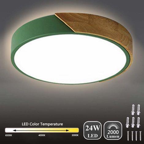 Plafonnier rond vert 30W dimming 962-400