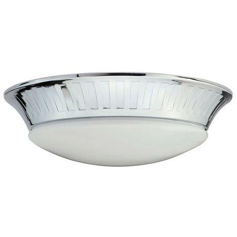 Plafonnier Salle de bain Whitby 7W LED Argent - ELSTEAD LIGHTING ...