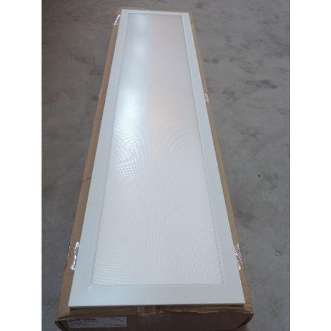 Plafonnier suspendu LED 39W dalle 1200x300mm blanc 4000K 4000lm 230V diffuseur micro-prismatique IK06 IP20/40 RAPSODY V2 D/I