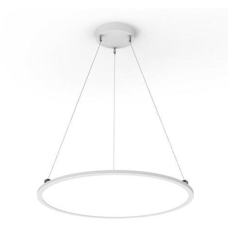 plafonnier suspendu rond 4000 lumens extra plat. Black Bedroom Furniture Sets. Home Design Ideas
