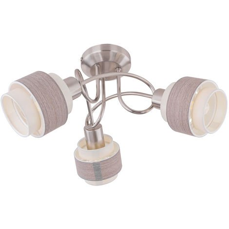 Plafonnier TÉLÉCOMMANDE Rétro projecteur DIMMABLE dans un ensemble comprenant des ampoules LED RGB
