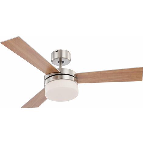 Plafonnier ventilateur ventilateur télécommande éclairage plafond lampe Globo Alana 0333