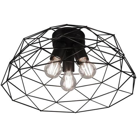 Plafonnier VINTAGE lampe de cuisine cage de salle à manger TÉLÉCOMMANDE dans un ensemble avec éclairage LED RGB